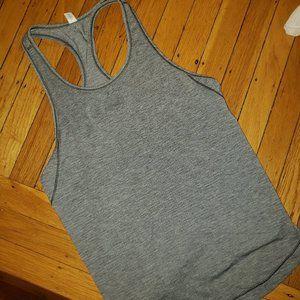 lululemon athletica Tops - Lululemon Gray Long Distance Tank, Size 6